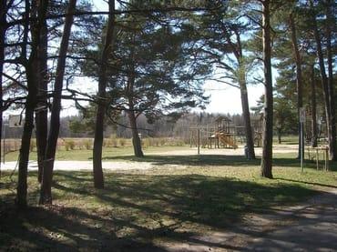 Waldspielplatz in unmittelbarer Nähe unserer Unterkunft