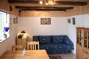 Wenn gewünscht zweites Schlafzimmer .Seperat mit Boddenblick.