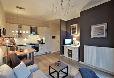 Eine geschmackvolle sowie stilvolle Ausstattung und liebevolle Gestaltung der Wohnung