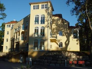 "Residenz ""Grüne Düne"" - Seitenansicht"