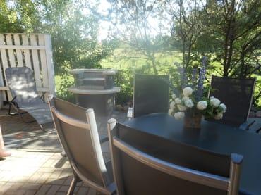 Terrasse mit Grillecke
