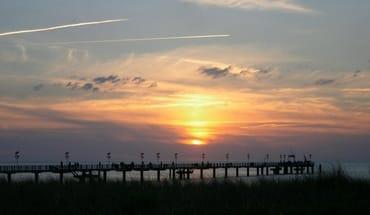 Sonnenuntergang mit Romantik pur :)
