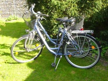 """2 Fahrräder Marke """"Herkules"""" stehen Ihnen kostenlos zur Verfügung"""