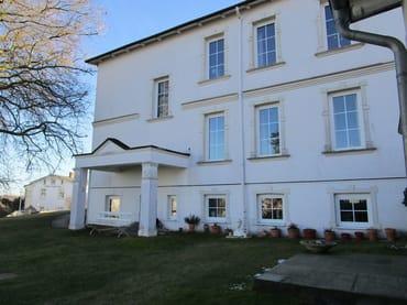 Villa Am Meer, Hofansicht