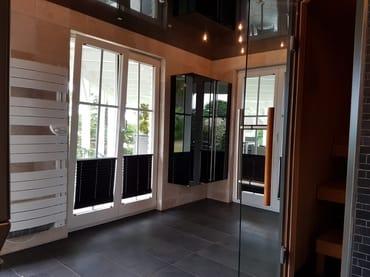 unser Saunabereich im Nebengebäude