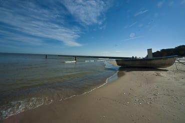 Zempiner Strand im Winter