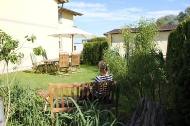 Garten für die Gäste (mit Grillmöglichkeit)