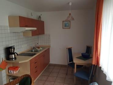 Küche der Ferienwohnung Oie
