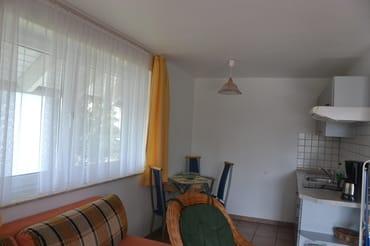 Küche der Ferienwohnung Usedom