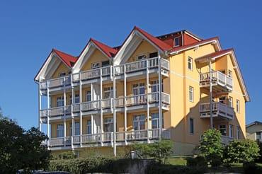 Villa Bergfrieden - Südansicht