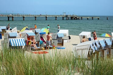Göhren - am Strand