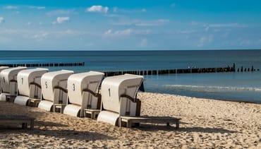 In nur 5 bequemen Gehminuten sind Sie sofort am Strand !