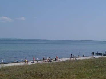 Am Strand des Ostseebads Juliusruh
