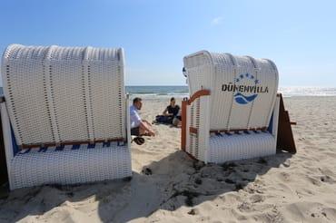 Ihr Strandkorb, kann dazu gebucht werden