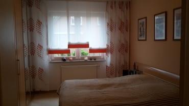 Schlafzimmermit Doppelbett