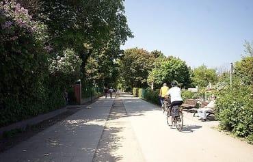 Fahrradkeller im Haus