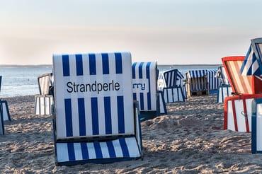 Privater Strandkorb