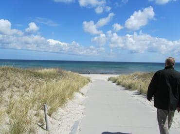 Juliusruh: Weg zum Strand