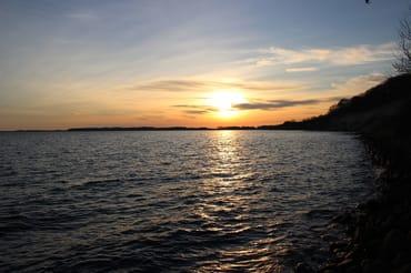 Sonnenuntergang auf Mönchgut
