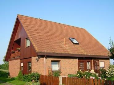 """Haus """"Rotmilan"""" (Straßenseite)"""