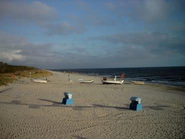 Der wunderschöne Strand im Ostseebad Koserow