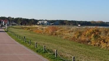 Promenade in Richtung Restaurant Ostseeperle