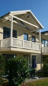 geräumiger Balkon mit Zugang vom Wohn- und Schlafzimmer