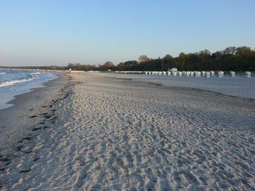 Der neue superbreite Strand von Boltenhagen