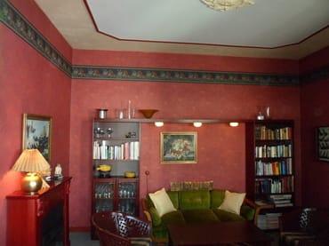 Unser Lesezimmer bietet Platz für Kartenspieler und Gäste die in gemeinsamer Runde den Abend ausklingen lassen möchten. (Ohne Bewirtschaftung).