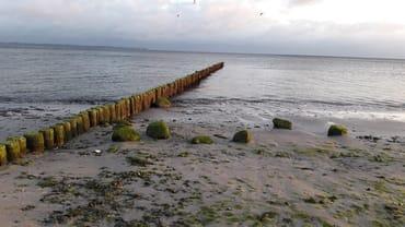Ostsee bei Niedrigwasser