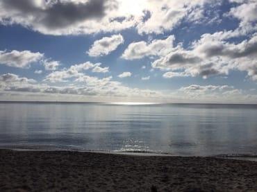 Ostseestrand von Lobbe