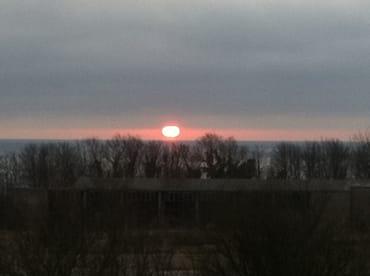 auch Morgens vom Balkon