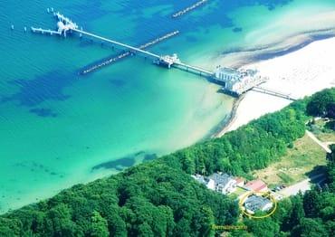 Bernsteinperle u. Seebrücke auf einen Blick