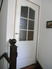 Eingang im Haus