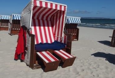 Ihr Strandkorb wartet auf Sie