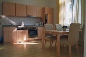 Wohnraum mit Küchenbereich