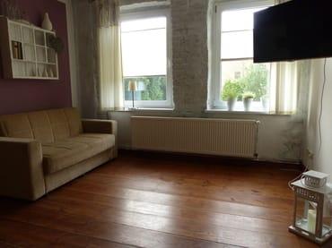 Wohnzimmer-Fernsehecke