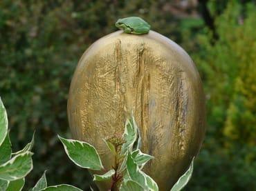 Gartenbewohner mit Kunstverstand