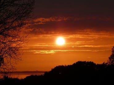 Lohme - berühmt für seine schönen Sonnenuntergänge
