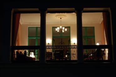 Abendstimmung in der Loggia