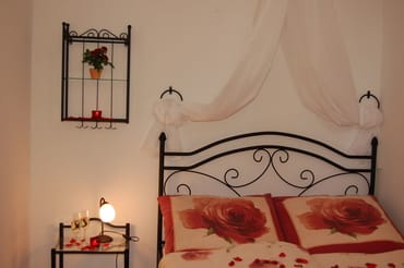 Dornröschenbett im Schlafzimmer