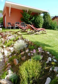 rückseitiger Gartenbereich