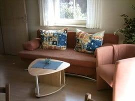 Wohnzimmer - Schlafcouch