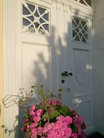 Gästeeingang - Darßer Haustür
