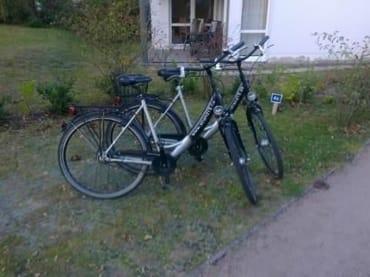 2 tolle Fahrräder für Erwachsene