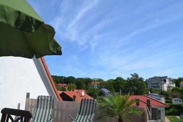 Dachterrasse Blickrichtung Osten