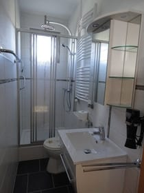 Badezimmer Fewo Meerblick