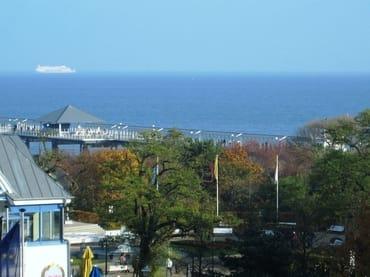 Aussicht von der Wohnung / vom Balkon