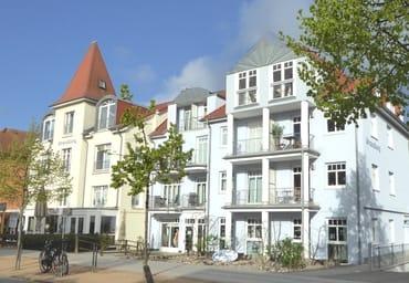 Die Villa Strandburg in der Strandstraße