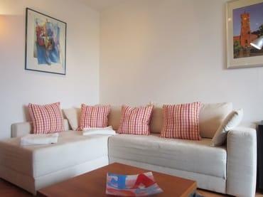 Sofa im Wohnbereich